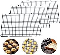 """DGJ 16"""" X 10"""" X 3/4"""" Cooling Rack Wire Grid, Stainless Steel Oven Rack for Baking and Cooking dgj521"""