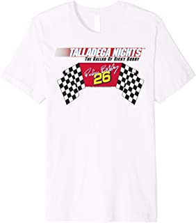 Ricky Bobby Racing Logo Flag Premium T-Shirt