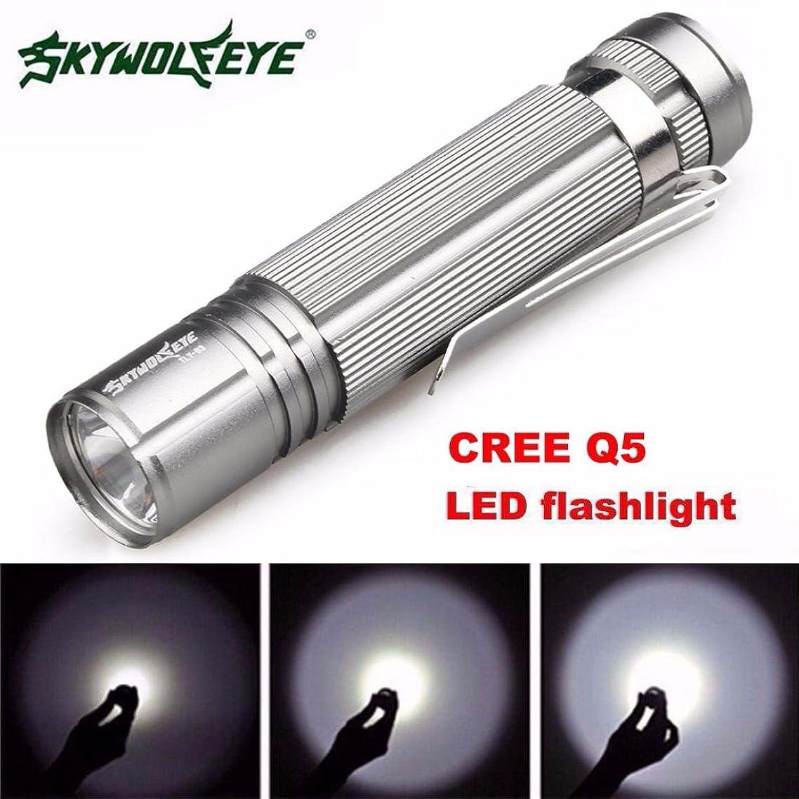 Flashlight,Baomabao 7W CREE Q5 LED 1200lm Mini Flashlight Torch Light 14500/AA Lamp Waterproof