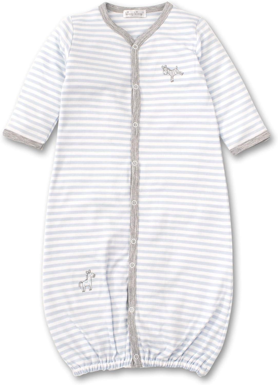 Kissy Kissy Baby-Boys Infant Zebra ZZZ's Stripe Convertible Gown