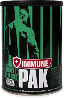 Animal Immune Pak - Zinc, Vitamin C, Vitamin D, Olive Leaf Extract, Black Pepper Extract and More, 30 Count