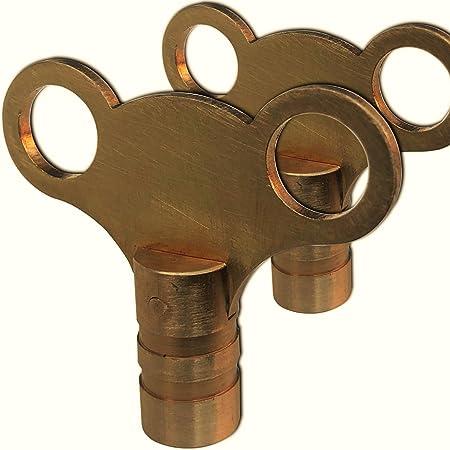 Radiator Bleed Keys,DERMASY 5PCS Square Radiator Bleed Valve Keys for Many Radiators Heaters