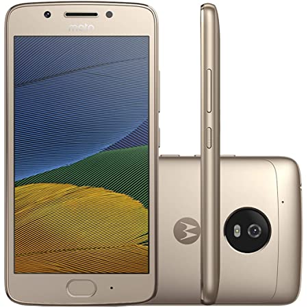 Moto G5 (5th Generation) - 32GB GSM Unlocked Android Smartphone (Fine Gold)