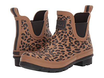 Joules Wellibob (Tan Leopard) Women