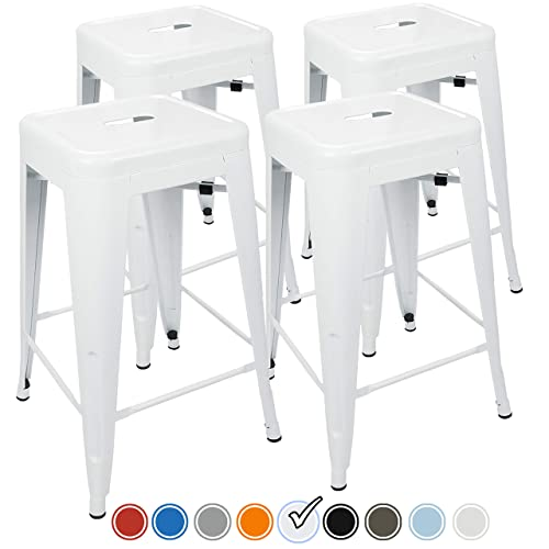 White Counter Stools Amazoncom