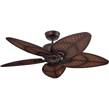 Amazon Com Harbor Breeze Tilghman Ii 52 In Bronze Indoor Outdoor Residential Ceiling Fan With Adaptable Light Kit 5 Blade Kitchen Dining