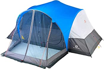Outbound 8-Person Tent for Camping with Screen Porch and Carry Bag
