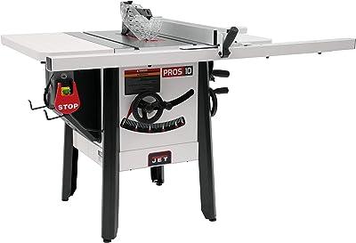 JET JPS-10 115V 30″ ProShop Table Saw with Steel Wings