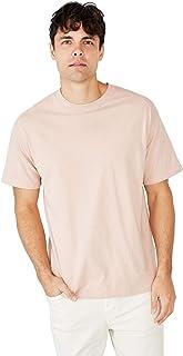 Cotton On Men's Crew Short Sleeve Essential Skate T-Shirt