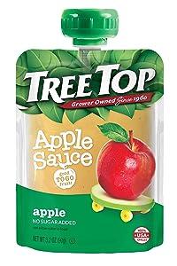 Tree Top Apple Sauce Pouches, 3.2 oz, 40 Pouches