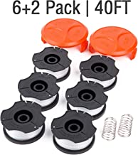 GARDENOK Line String Trimmer Replacement Spool [ Compatible with Black & Decker..