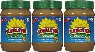 SunButter SunButter Organic Sunflower Seed Spread, 16 oz Plastic Jars, 3 pk