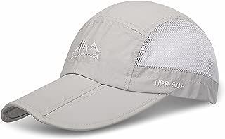 Outdoor Quick Dry Sun Hat Folding Portable Unisex UV SPF 50+ Baseball Cap