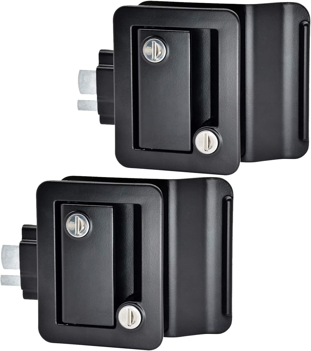 YOMILINK Upgraded RV unisex Door Classic Lock 2 Keyed Pack Same Alike Key Bl
