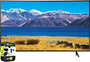 $629 » SAMSUNG UN55TU8300FXZA 55 inch HDR 4K UHD Smart Curved TV 2020 Model Bundle with 1 Year Extended Protection Plan
