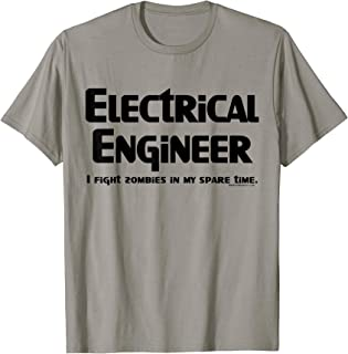 Electrical Engineer Zombie Fighter Funny Gamer