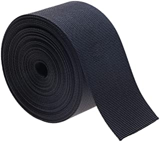 Shapenty 2 Inch Black Nylon Webbing Strap Weave Strapping Replacement for Belts, Buckles, Bags, Outdoor Sport Gear, DIY Lu...