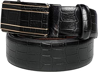 Checked Belt Leather