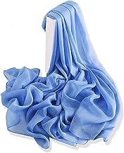 YFZYT Mujeres Bufanda/Echarpe/Pañuelo/Foulard, Pañuelo de seda Mujer Mantón Bufanda Moda Chals Señoras Elegante Color de Degradado Estolas Fular para Fiesta, Playa, Uso Diario