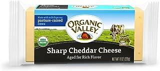 Organic Valley, Organic Sharp Cheddar Cheese - 8 oz Block