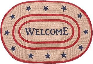 Indoor Outdoor Doormat Floor Mat Natural Handmade Weaving Non Slip 23x35 Inches Door Mats Entrance Welcome Mat Dirt and Dust Absorber for Bedroom