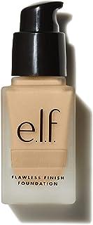 e.l.f. Flawless Finish Foundation, Lightweight, Oil-free formula, Vanilla, 0.68 Fl Oz