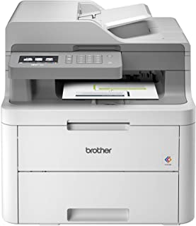 Brother MFC-L3710CW Compact Digital Color All-in-One Printer Providing Laser Printer Quality Results with Wireless, Amazon...