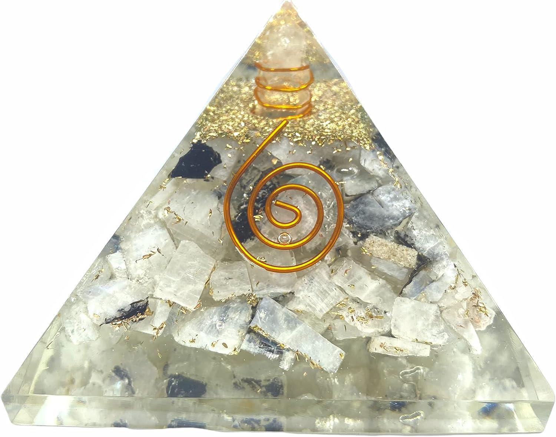 Spiritual Elementz Rainbow Orgone Pyramid Sale special price Max 42% OFF Stone Heal for 3'Inch