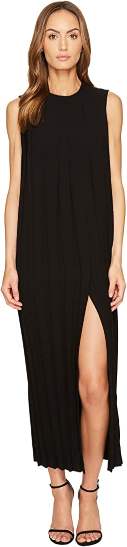 Neil Barrett - Sleeveless Pleated Long Dress
