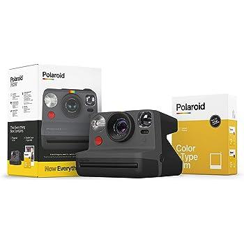 Polaroid Originals Now I-Type Instant Camera and Film Bundle - Everything Box Black (6026)