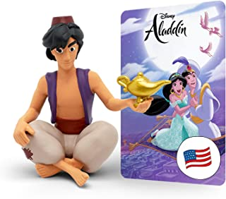 Boxine GmbH Disney's Aladdin Tonie - Includes 4 Songs and 1 Story for toniebox Screen-Free Audio Player - Ages 3 and Up