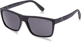 Men's Ph4133 Rectangular Sunglasses