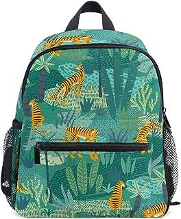 Tigres Abstractos Selva Mochila para Preescolar Niñas Niños Toddler Kids Estudiante Mochilas para Infantiles 1-6 Años