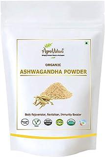 Agrovishwa USDA Organic Certified ASHWAGANDHA Powder   Intro.Offer   Stress Relief, Anti-Anxiety, Immune Energy Support  ...