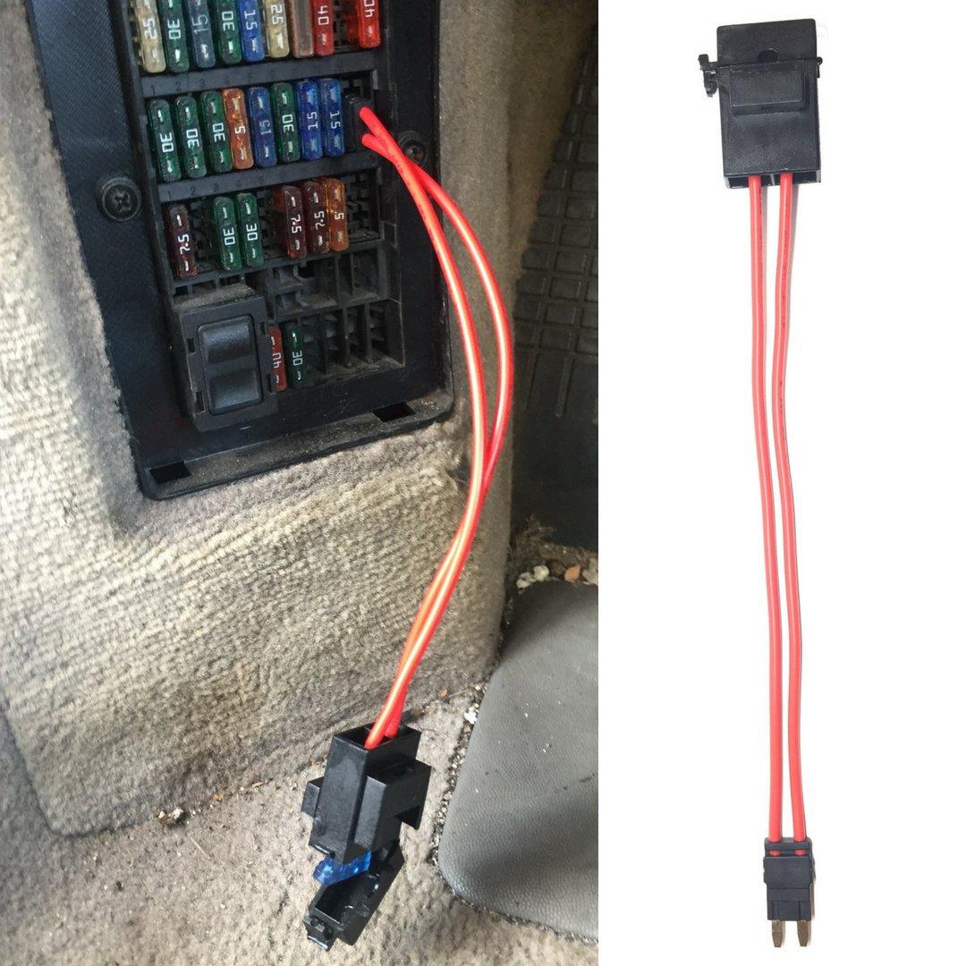 Car Fuse Holder Connector Extension Adapter Mini ATM 32 V 20 Amp 16 gauge  11.5 in: Amazon.com.au: AutomotiveAmazon.com.au