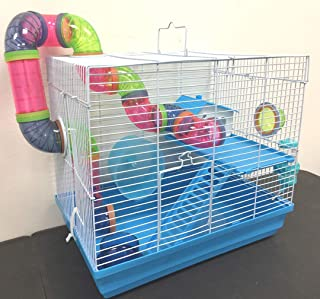 New 2 or 3 Levels Hamster Habitat Rodent Gerbil Mouse Mice Rats Animal Cage
