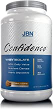 Confidence by JBN 100% Whey Isolate Protein Powder Mix - 5 Grams of Fibersol - Great Tasting - Easily Digestible - High Purity & Potency - Great for Weight Management (Oatmeal Cookie, 30 Servings)
