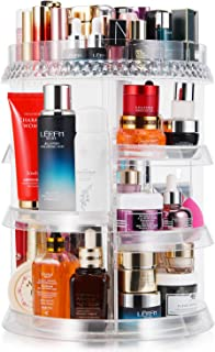 میزکار آرایش 360 درجه چرخش 7 لایه قابل تنظیم ذخیره سازی انواع مختلف لوازم آرایشی و بهداشتی چند منظوره ظرفیت بزرگ آرایش نگهدارنده بزرگ برای لباس حمام Vanity