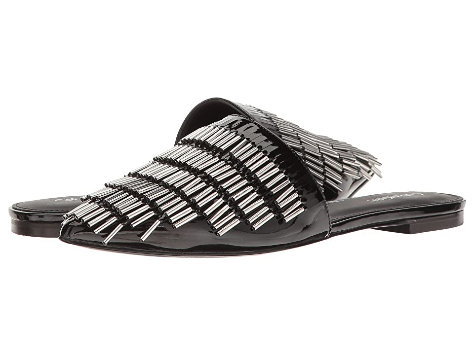 3995e48e9de Calvin Klein Addie (Black Patent) High Heels