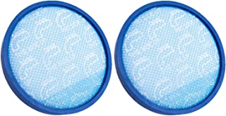 Green Label 2 Pack Primary Blue Sponge Replacement Filter 304087001 for Hoover WindTunnel, Elite Rewind and Elite Whole House Bagless Upright Vacuum Cleaners