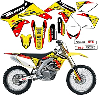Team Racing Graphics kit compatible with Suzuki 2001-2014 RM 125/250, EVOLV
