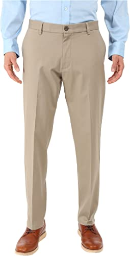 Signature Khaki Athletic Flat Front Stretch