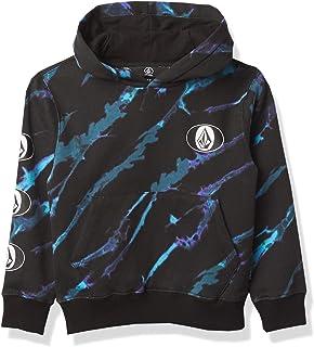 Volcom Boys' Stone Stack Hooded Fleece Sweatshirt (Big Boys & Little Boys Sizes)