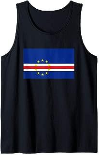 Cape Verde Flag Soccer Football Fan Gift  Tank Top