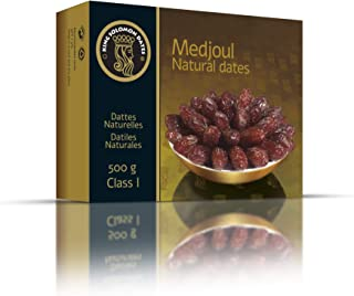 Medjool Dates Premium Top Quality Larger Softer, Sweeter Dates From Date Palms. Superfood Snacks Natural Dried Medjul Dates. Gluten-free for Athletes Date Fruit by King Solomon 1.1 Pounds, Large Size