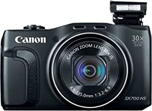 Canon PowerShot SX700 HS Digital Camera - Wi-Fi Enabled (Black)