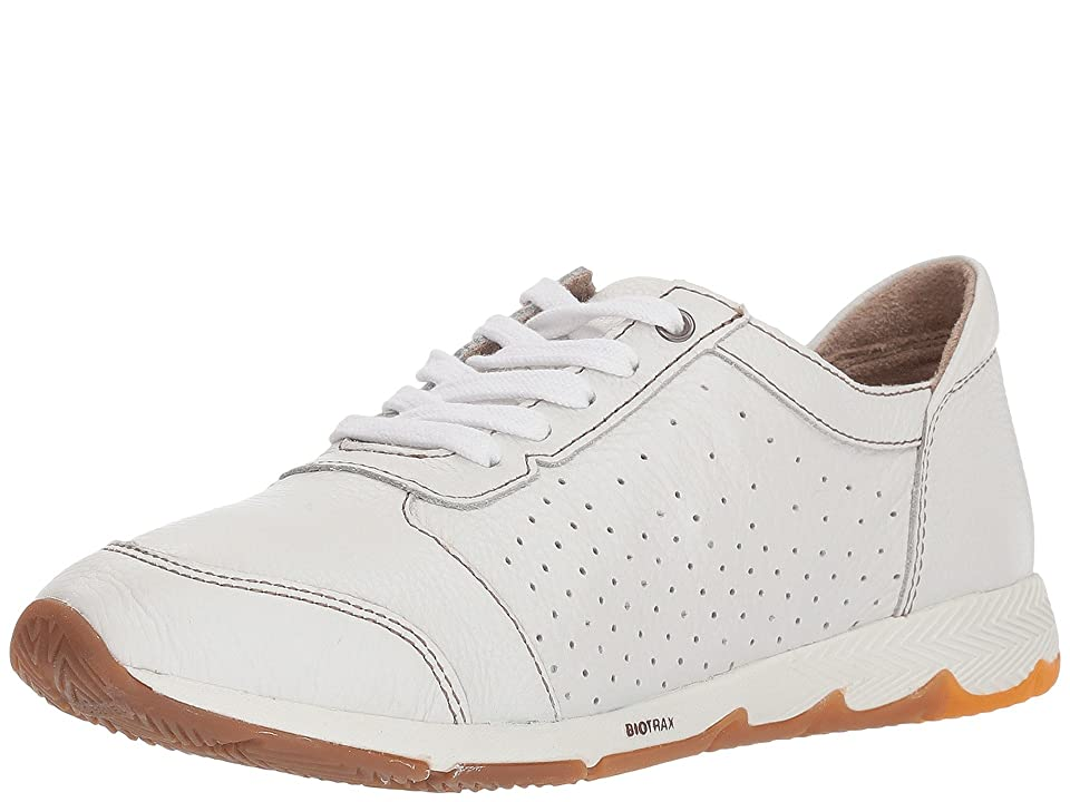 Hush Puppies Cesky Perf Oxford (White Leather) Women