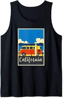 California Surfing Mavericks Half Moon Bay Summer Surf Gift Tank Top