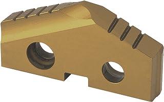 0.031 Corner Radius TiAlN Coating Pack of 10 0.125 Thick GC1020 Grade LCMX Style LCMX 03 03 08T Sandvik Coromant U-Drill Carbide Drilling Insert