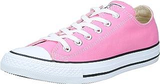 حذاء تشاك تايلور از للجنسين من كونيفرس، لسان مزدوج، يتم إحكام ارتدائه بأربطة تأخذ شكل OX